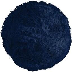 Kunstfell Teddy Blau 80cm - Blau, Textil (80cm) - Mömax modern living