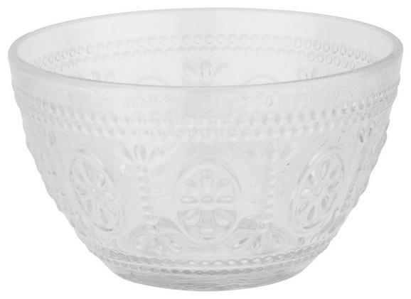 Skleda St. Remy - prozorna, Romantika, steklo (13/7,7cm) - Mömax modern living