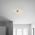 Stropna Svetilka Lara - srebrna, kovina (16/18cm) - Mömax modern living