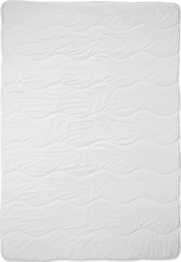 Einziehdecke Cotton, ca. 135-140x200cm - Weiß, Textil (135-140/200cm) - MÖMAX modern living