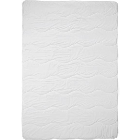 Einziehdecke Cotton, ca. 135-140x200cm - Weiß, Textil (135-140/200cm) - Nadana