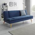 Schlafsofa Lorenzo - Blau, MODERN, Holz/Textil (180/83/93cm) - Modern Living