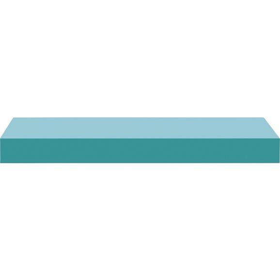 Stenska Polica Anja Mare - svetlo modra, leseni material (50/4,4/24cm) - Mömax modern living