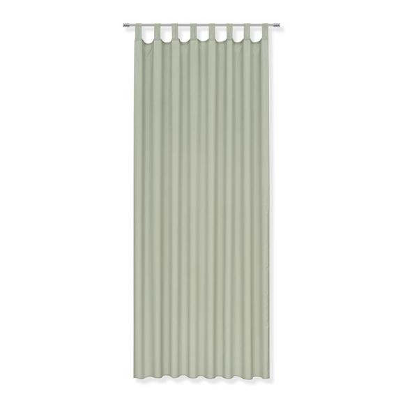 Perdea Cu Bride Hanna - verde, textil (140/245cm) - Based