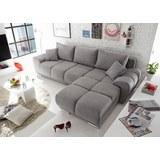 Sedežna Garnitura Anton - svetlo siva, Moderno, leseni material/tekstil (289/85/189cm) - MODERN LIVING