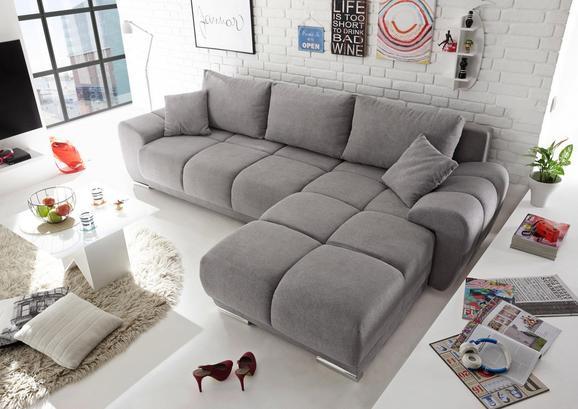 Sedežna Garnitura Anton - svetlo siva, Moderno, leseni material/tekstil (289/85/189cm) - Mömax modern living