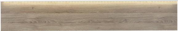 Stenski Panel Gamble - hrast, Moderno, leseni material (196/35/4cm) - Premium Living