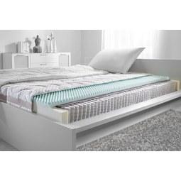 Taschenfederkernmatratze ca. 90x200cm - Weiß, Textil (90/200cm)