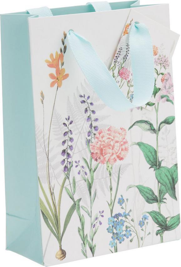 Geschenktasche Jana in Bunt - Multicolor/Weiß, Papier (11/16/5cm)