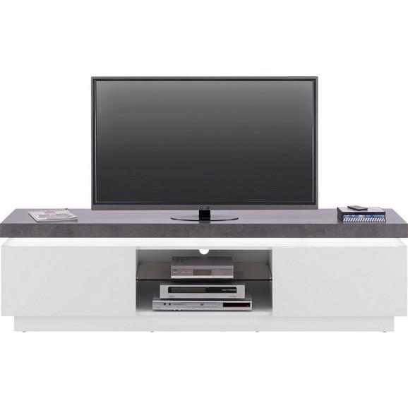 lowboard in wei matt lackiert online kaufen m max. Black Bedroom Furniture Sets. Home Design Ideas