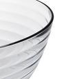 Rösle Salatschüsselset aus Glas mit Besteck 3-teilig - Klar, KONVENTIONELL, Glas/Metall (29cm) - Rösle