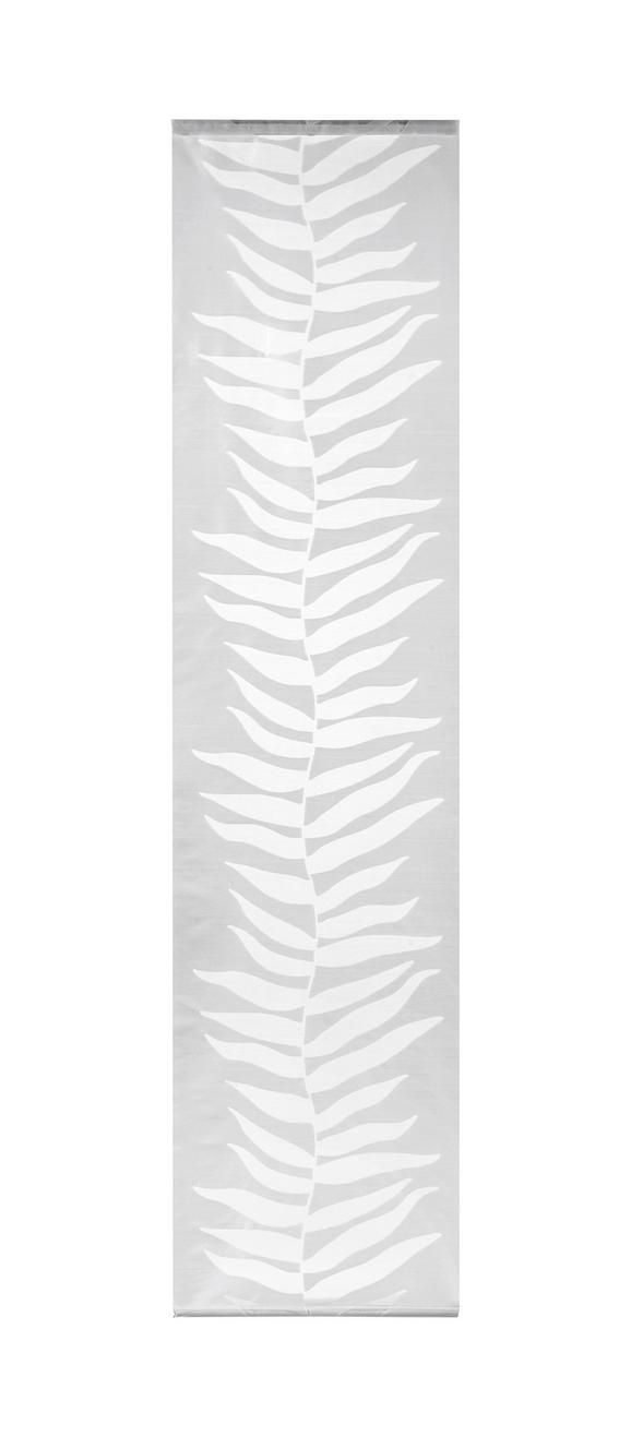 Panelna Zavesa Joe - siva, Moderno, tekstil (60/245cm)