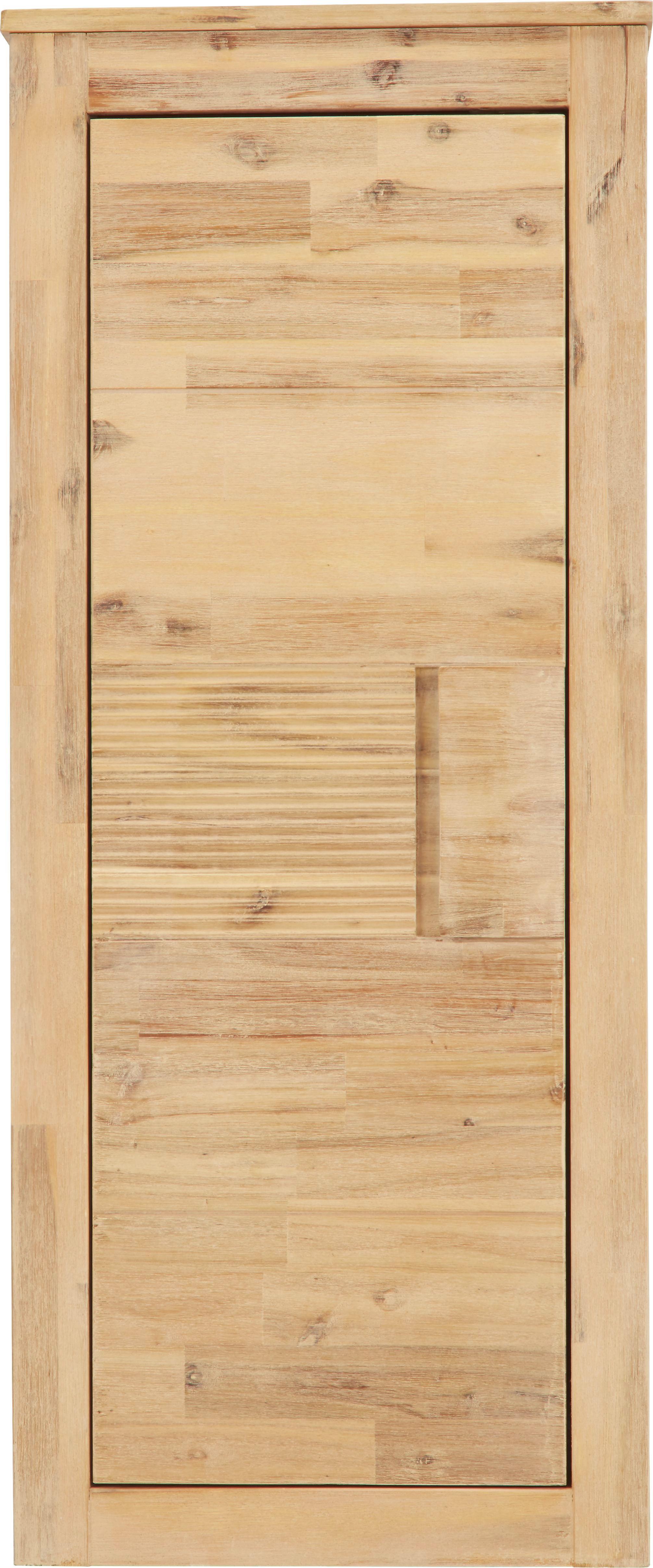 Függesztett Elem Aruba - akác színű, konvencionális, fa (50/120/35cm)