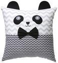 Ukrasni Jastučić Panda - bijela/crna, tekstil (40/40cm) - Mömax modern living