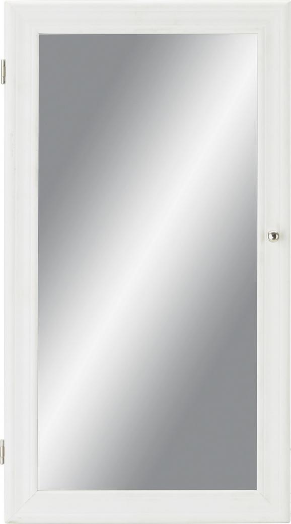 Spiegelschrank ca. 30x55x9cm in Weiß - ROMANTIK / LANDHAUS (30/55/9cm) - MÖMAX modern living
