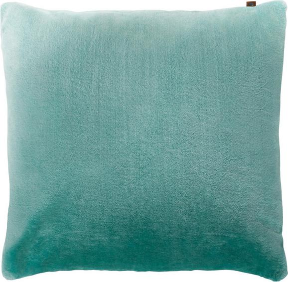 Kissen Eliza 60x60cm - Mintgrün, MODERN, Textil (60/60cm)