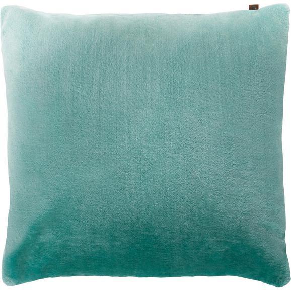 Kissen in Mint 'Eliza'  ca. 60x60cm - Mintgrün, MODERN, Textil (60/60cm) - Bessagi Home
