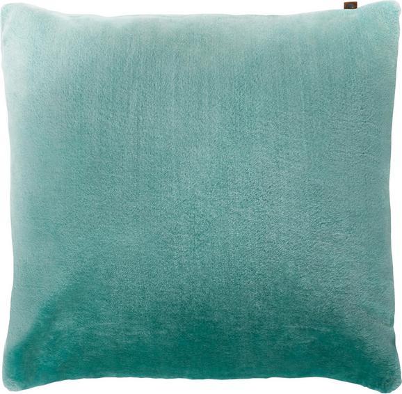 Zierkissen Eliza 60x60cm - Mintgrün, MODERN, Textil (60/60cm)