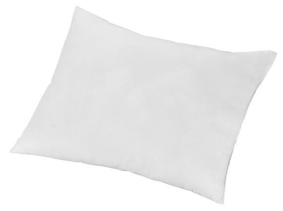 Vzglavnik Katarina - bela, Konvencionalno, tekstil (40/50cm)