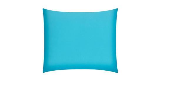 Kissenhülle Belinda, ca. 80x80cm - Türkis/Petrol, Textil (80/80cm) - Premium Living