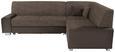 Funkcijska Sedežna Ganritura Miami - aluminij/odtenki umazano rjave, Moderno, umetna masa/tekstil (260/210cm) - Mömax modern living
