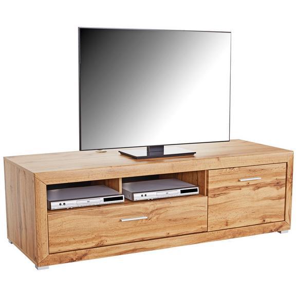 Element Tv Tizio - culoare lemn stejar, Modern, compozit lemnos (171,3/48,4/49,5cm)