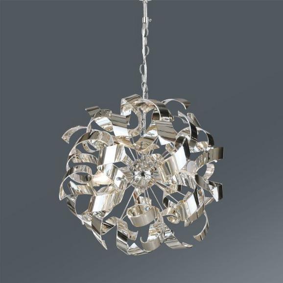 Viseča Svetilka Sila - Moderno, kovina/umetna masa (50/120cm) - Premium Living