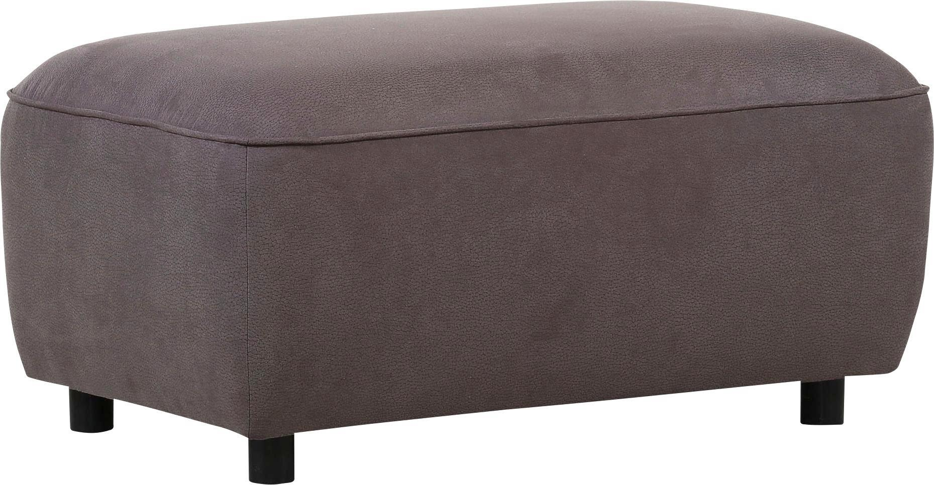 Tabure Porto - temno rjava, Moderno, tekstil (88/45/56cm) - MÖMAX modern living