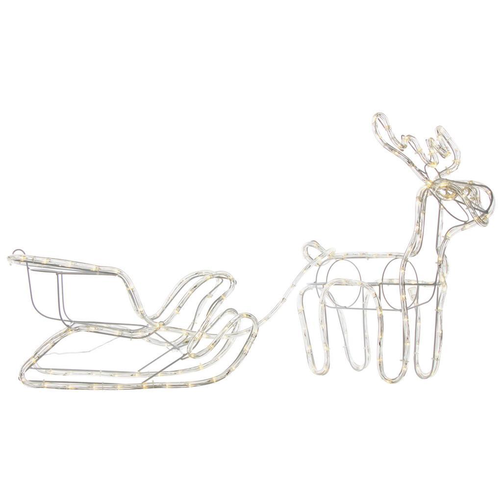 """*Merry X-Mas*: LED-Deko-Figur """"Renni"""" aus Kunststoff"""
