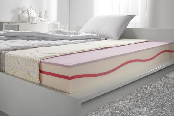 Gelschaummatratze ca. 90x200cm - Beige, Textil (90/200cm)