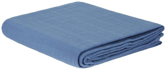 Pregrinjalo Solid One -ext- - modra, tekstil (240/210cm)