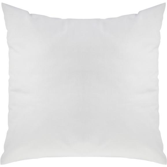 Pernă Decorativă Zippmex - alb, textil (50/50cm) - Modern Living