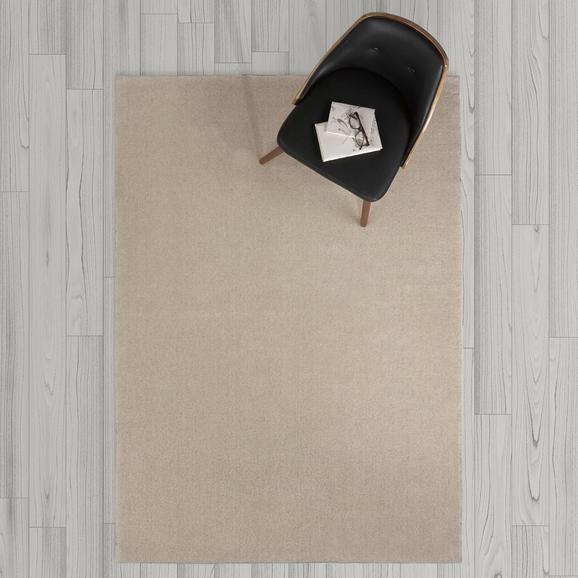 Teppich Carolin Handgewebt ca.140x200cm - Naturfarben, MODERN, Textil (140/200cm) - Mömax modern living