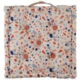 Boxkissen Terrazzo in Rosa ca. 40x40cm - Rosa, MODERN, Textil (40/40cm) - Mömax modern living