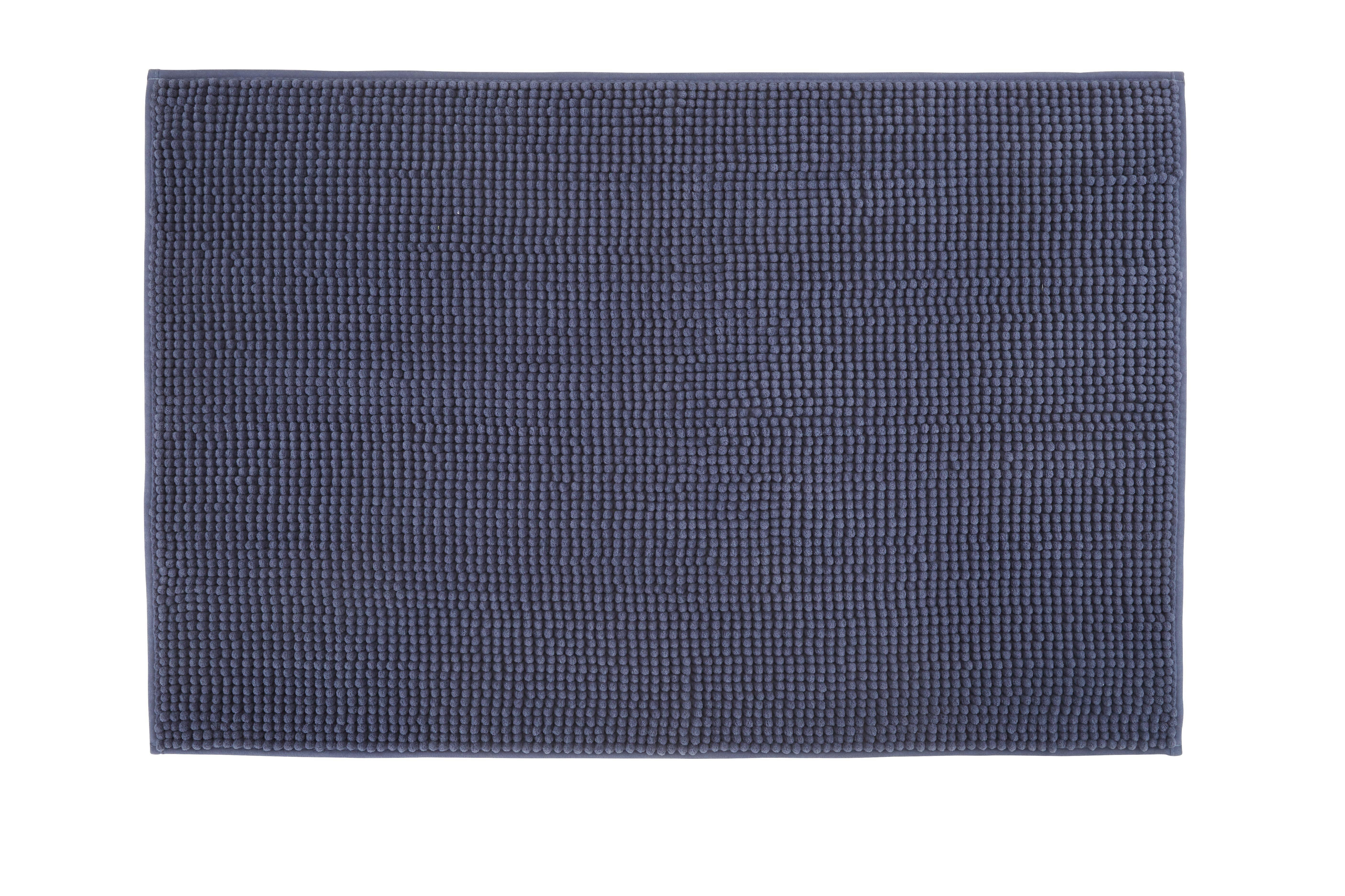 Badematte Nelly ca. 60x90cm - Blau, Textil (60/90cm) - MÖMAX modern living