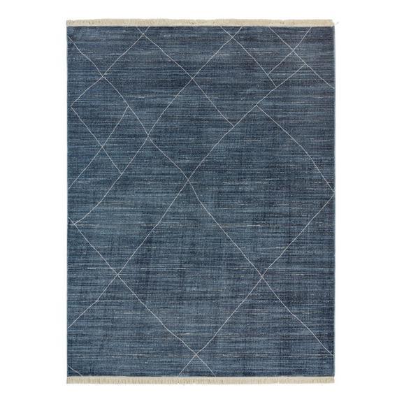 Tkana Preproga Prestige 1 - modra, tekstil (80/140cm) - Mömax modern living