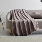 Hochwertige Kuscheldecke Elina 150x200 cm - Grau, MODERN, Textil (150/200cm) - Mömax modern living