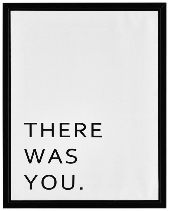 Keilrahmenbild Wording, ca. 40x50cm - Schwarz/Weiß, Holz/Kunststoff (40/50/2,5cm) - Mömax modern living