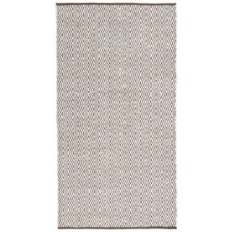 Handwebeteppich Carmen in Grau ca. 60x160cm - Grau, Textil (60/120cm) - Mömax modern living