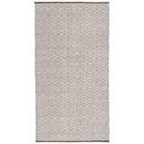 Handwebteppich Carmen in Grau ca. 80x150cm - Grau, Textil (80/150cm) - Mömax modern living