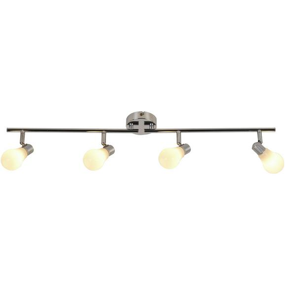 Deckenleuchte Bahar max. 25 Watt - Weiß, ROMANTIK / LANDHAUS, Kunststoff/Metall (43cm) - Modern Living