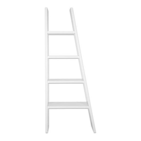 Regal Weiß - Weiß, Holzwerkstoff (42-76/190/30cm) - Mömax modern living