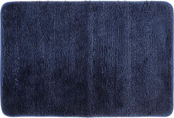 Badematte Christina Blau - Blau, Textil (60/90cm) - MÖMAX modern living