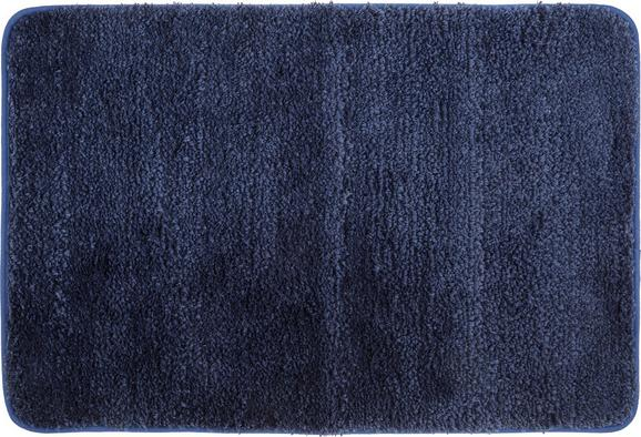 Badematte Christina ca. 60x90cm - Blau, Textil (60/90cm) - MÖMAX modern living