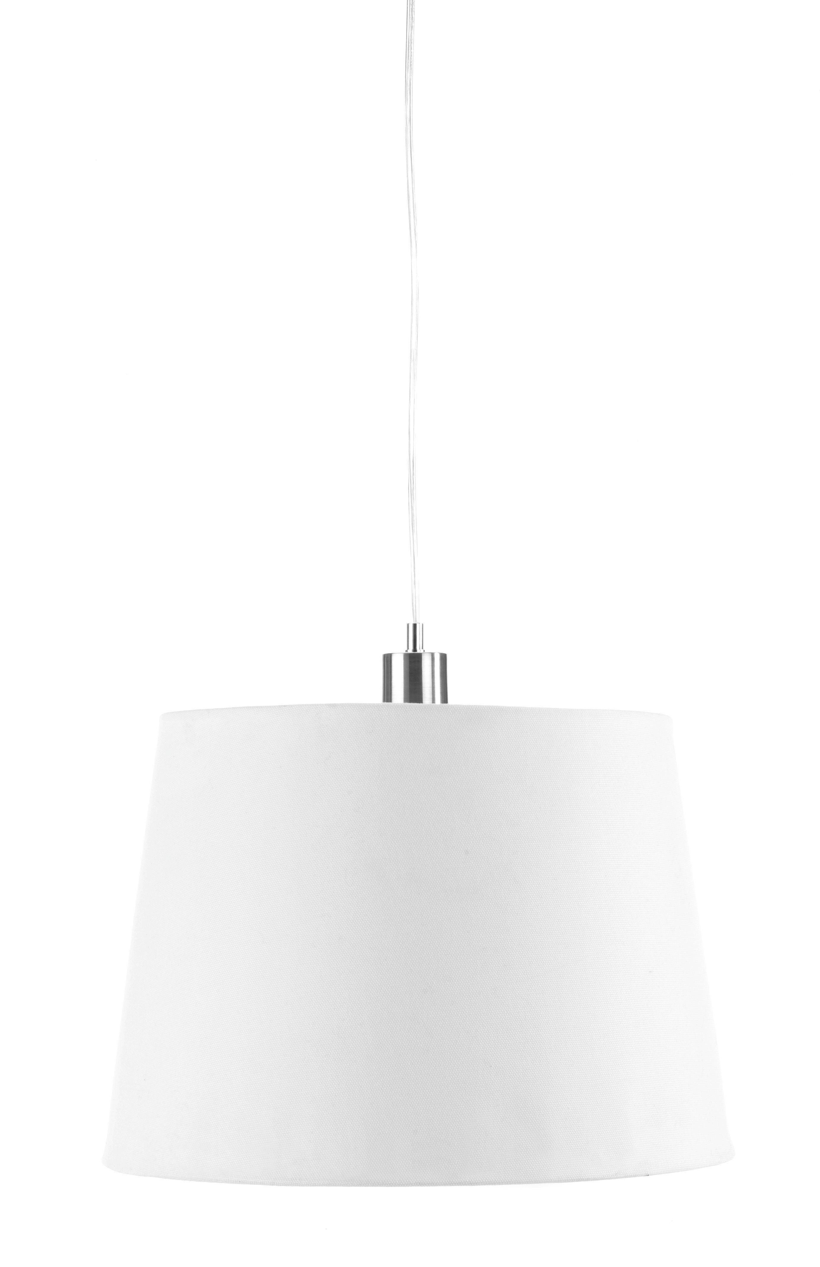 Lámpaernyő Ancona - fehér, textil/fém (34-42/29cm) - MÖMAX modern living