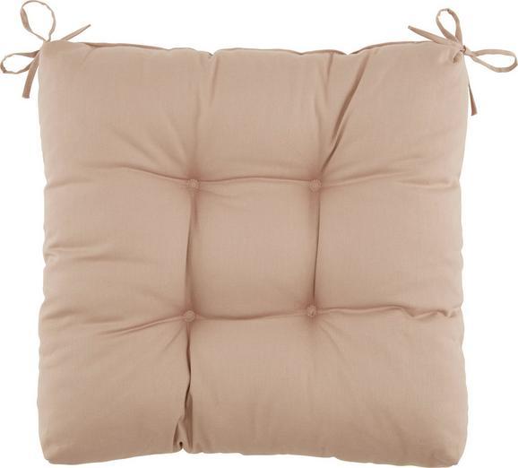 Sedežna Blazina Elli -top- - siva, tekstil (40/40/7cm) - Based