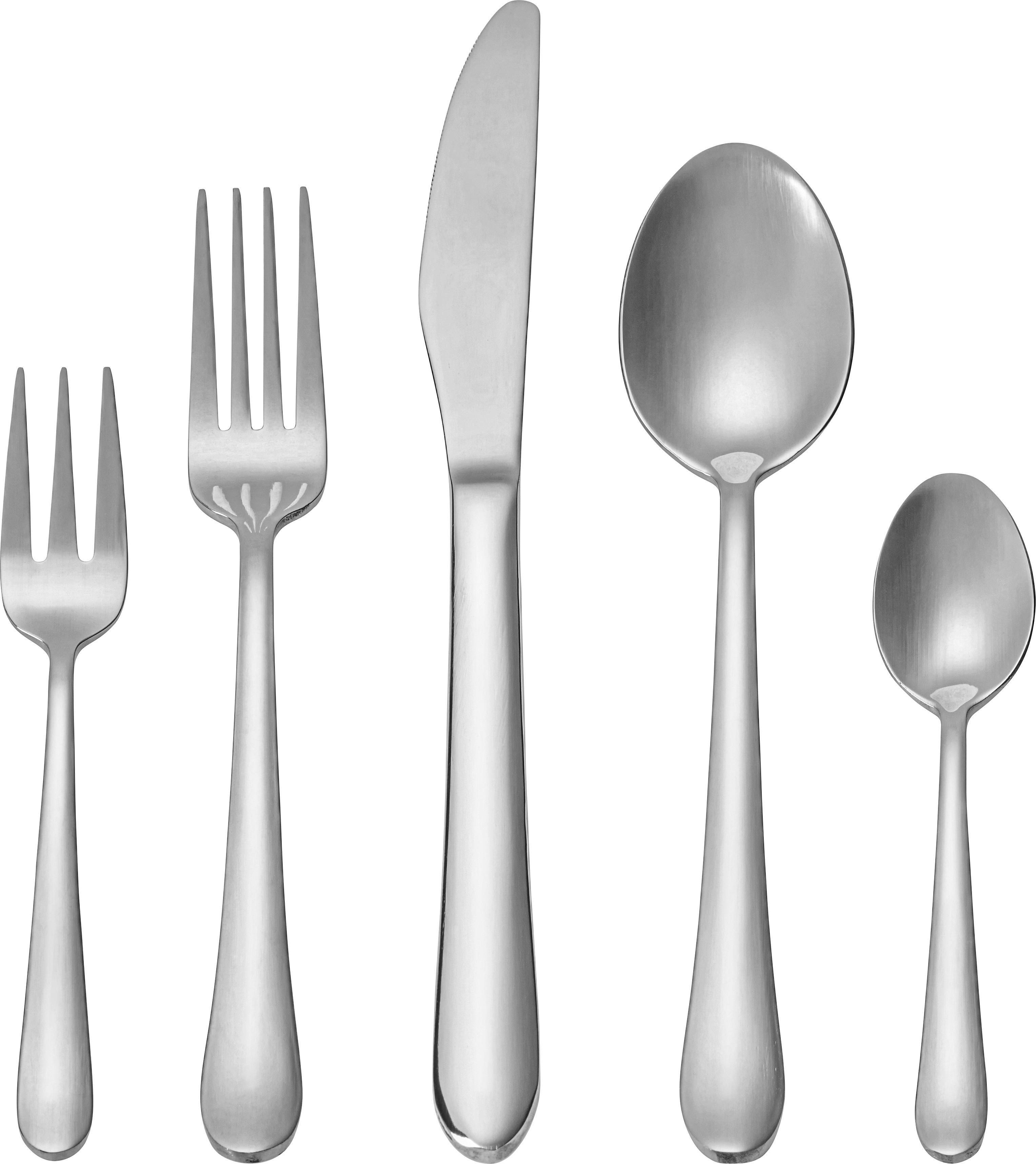 Besteckset Belinda aus Metall, 30-teilig | Küche und Esszimmer > Besteck und Geschirr > Besteck | Mömax modern living