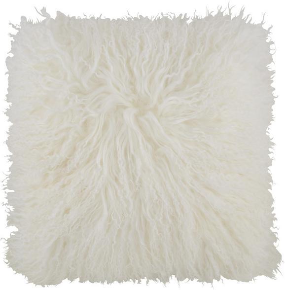 Díszpárna Shaun - Fehér, Textil (40/40cm) - Premium Living
