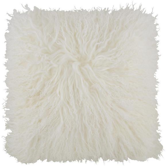 Zierkissen Shaun in Weiß ca. 40x40cm - Weiß, Textil (40/40cm) - Premium Living