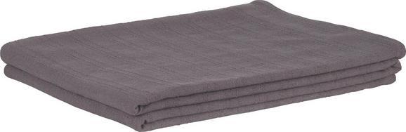 Pregrinjalo Solid One - temno siva, tekstil (140/210cm)